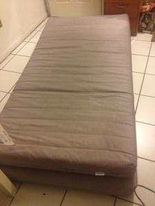 2 old mattresses